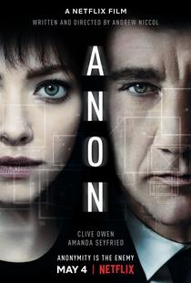 Anon - Poster / Capa / Cartaz - Oficial 3
