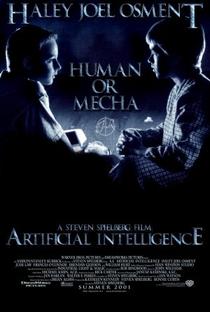 A.I. Inteligência Artificial - Poster / Capa / Cartaz - Oficial 8