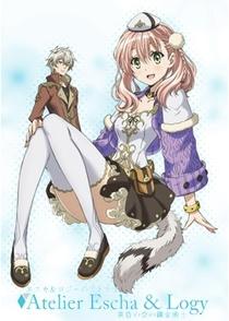 Escha & Logy no Atelier: Tasogare no Sora no Renkinjutsushi - Poster / Capa / Cartaz - Oficial 1