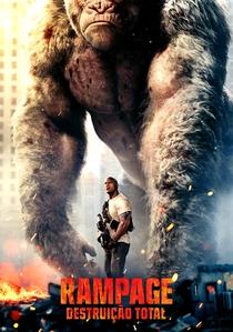 Rampage: Destruição Total - Poster / Capa / Cartaz - Oficial 1