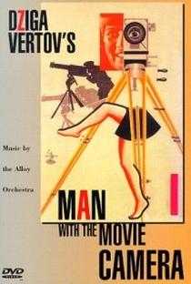 Um Homem Com uma Câmera - Poster / Capa / Cartaz - Oficial 2