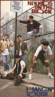 New Kids On The Block - Hangin' Tough Live - Poster / Capa / Cartaz - Oficial 2