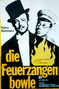 Die Feuerzangenbowle - Poster / Capa / Cartaz - Oficial 1