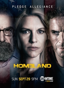 Homeland (3ª Temporada) - Poster / Capa / Cartaz - Oficial 1