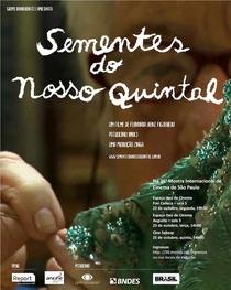 Sementes do Nosso Quintal - Poster / Capa / Cartaz - Oficial 1