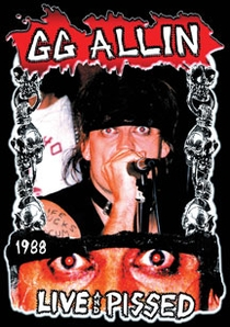 GG Allin: Live And Pissed - Poster / Capa / Cartaz - Oficial 1
