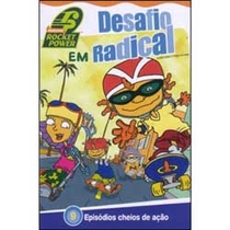 Rocket Power - Desafio radical - Poster / Capa / Cartaz - Oficial 1