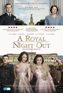 A Noite da Realeza - Poster / Capa / Cartaz - Oficial 1