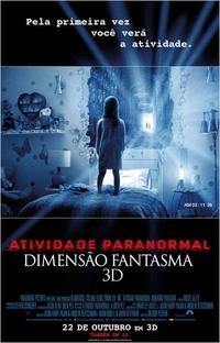 Atividade Paranormal: Dimensão Fantasma - Poster / Capa / Cartaz - Oficial 1