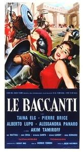 Le Baccanti - Poster / Capa / Cartaz - Oficial 2