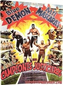 Los Campeones Justicieros - Poster / Capa / Cartaz - Oficial 1