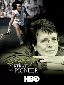 Billie Jean King: Portrait of a Pioneer - Poster / Capa / Cartaz - Oficial 1