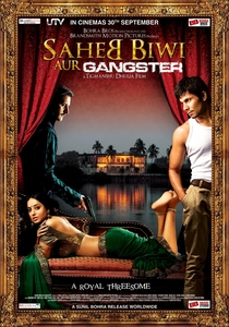 Saheb Biwi Aur Gangster - Poster / Capa / Cartaz - Oficial 1