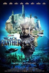 Pantera Negra - Poster / Capa / Cartaz - Oficial 23