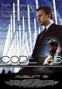 Código 46 - Poster / Capa / Cartaz - Oficial 11