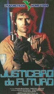 Justiceiro do Futuro - Poster / Capa / Cartaz - Oficial 1