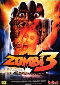Zombie 3 - Poster / Capa / Cartaz - Oficial 3
