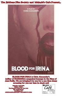 Blood for Irina - Poster / Capa / Cartaz - Oficial 1