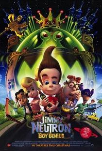 Jimmy Neutron, o Menino-Gênio - Poster / Capa / Cartaz - Oficial 1