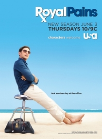 Royal Pains (2ª Temporada) - Poster / Capa / Cartaz - Oficial 1