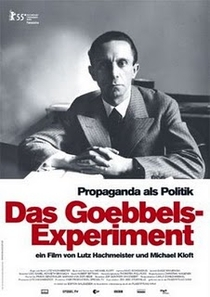 Experimento Goebbels - Poster / Capa / Cartaz - Oficial 1