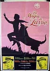A Magia de Lassie - Poster / Capa / Cartaz - Oficial 1