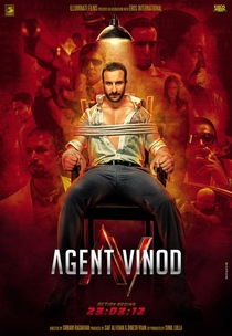 Agent Vinod - Poster / Capa / Cartaz - Oficial 8
