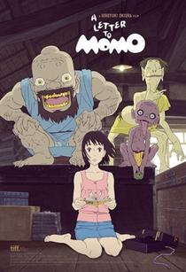 Uma Carta para Momo - Poster / Capa / Cartaz - Oficial 4