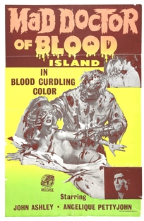 Mad Doctor of Blood Island - Poster / Capa / Cartaz - Oficial 1