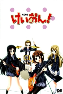 K-On! (1ª Temporada) - Poster / Capa / Cartaz - Oficial 6