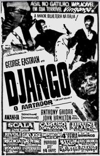Django, O Matador - Poster / Capa / Cartaz - Oficial 2