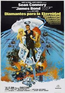 007 - Os Diamantes são Eternos - Poster / Capa / Cartaz - Oficial 5