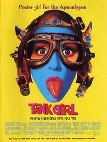 Tank Girl - Detonando o Futuro - Poster / Capa / Cartaz - Oficial 1