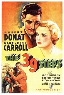 Os 39 Degraus - Poster / Capa / Cartaz - Oficial 2