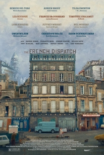 The French Dispatch - Poster / Capa / Cartaz - Oficial 2
