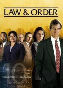 Lei e Ordem (10ª Temporada) - Poster / Capa / Cartaz - Oficial 1