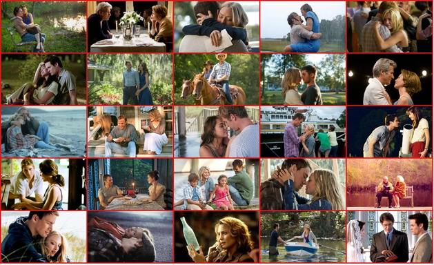 Todos os Filmes baseados na obra de Nicholas Sparks
