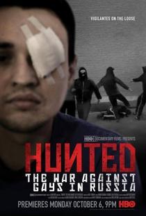Hunted - A Guerra Contra Gays na Rússia - Poster / Capa / Cartaz - Oficial 1