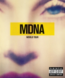MDNA World Tour - Poster / Capa / Cartaz - Oficial 7