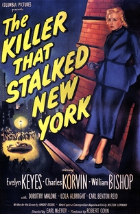 The Killer That Stalked New York - Poster / Capa / Cartaz - Oficial 1