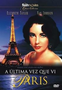 A Última Vez Que Vi Paris - Poster / Capa / Cartaz - Oficial 6