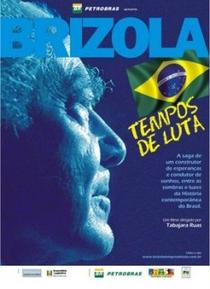 Brizola - Tempos de Luta  - Poster / Capa / Cartaz - Oficial 2