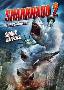 Sharknado 2: A Segunda Onda - Poster / Capa / Cartaz - Oficial 1
