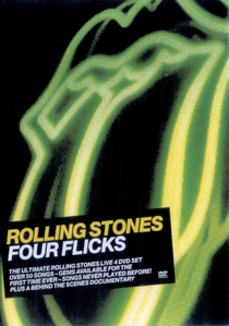 Rolling Stones - Four Flicks - Poster / Capa / Cartaz - Oficial 1