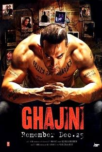 Ghajini - Poster / Capa / Cartaz - Oficial 5
