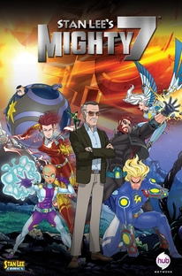 Stan Lee's Mighty 7 - Poster / Capa / Cartaz - Oficial 1