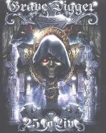 Grave Digger - 25 To Live - Poster / Capa / Cartaz - Oficial 1