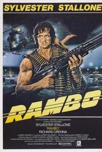 Rambo: Programado Para Matar - Poster / Capa / Cartaz - Oficial 6