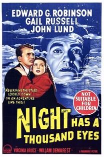 A Noite Tem Mil Olhos - Poster / Capa / Cartaz - Oficial 1