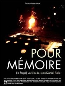 Pour mémoire - Poster / Capa / Cartaz - Oficial 1